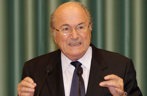 The 74-year-old Sepp Blatter has been president of FIFA since 1998. (AFP/Getty Images)