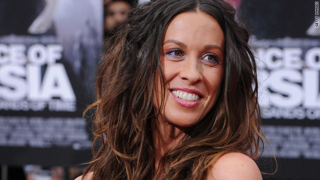 Alanis Morissette is expecting a...