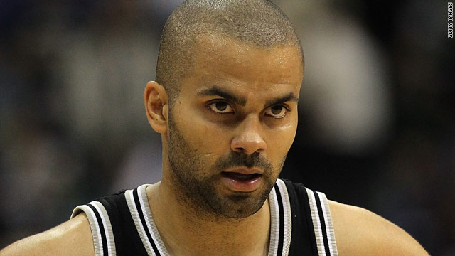 Tony Parker in sync with wife on divorce