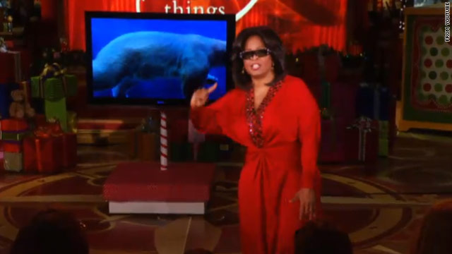 Oprah wows crowd with &#039;Ultimate Favorite Things&#039;