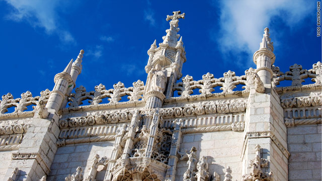 Images of Lisbon: Monastery of Jeronimos