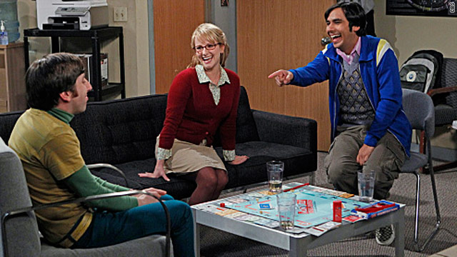 Love was in the air on 'Big Bang Theory'