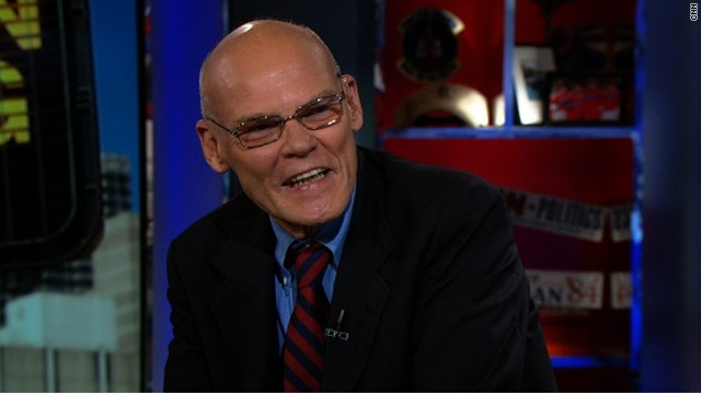 Carville defiant on Obama comment