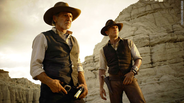 New trailers: Cowboys, aliens, cars and more