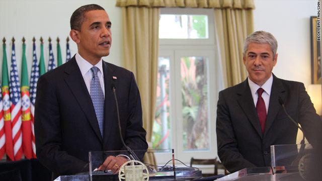 Portuguese Prime Minister welcomes Obama