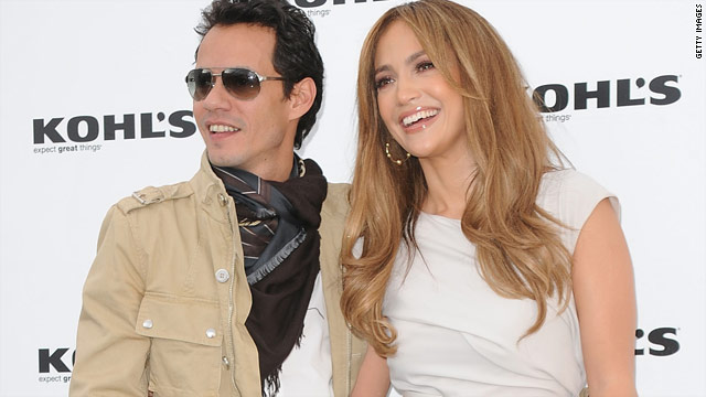 Jennifer Lopez and Marc Anthony team up with Kohl's