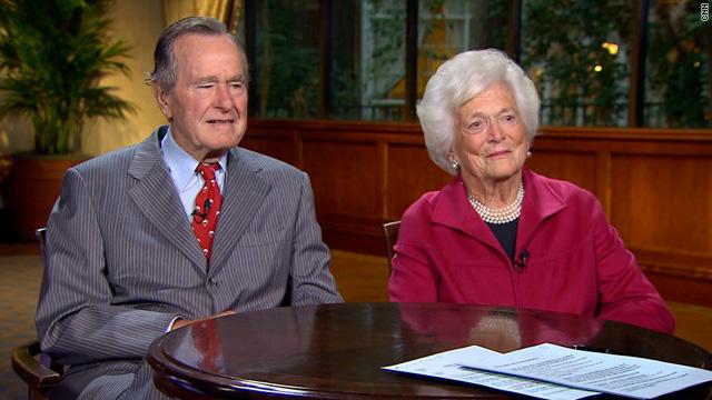 George Barbara Bush On Lkl We Re No Political Dynasty Cnn Com