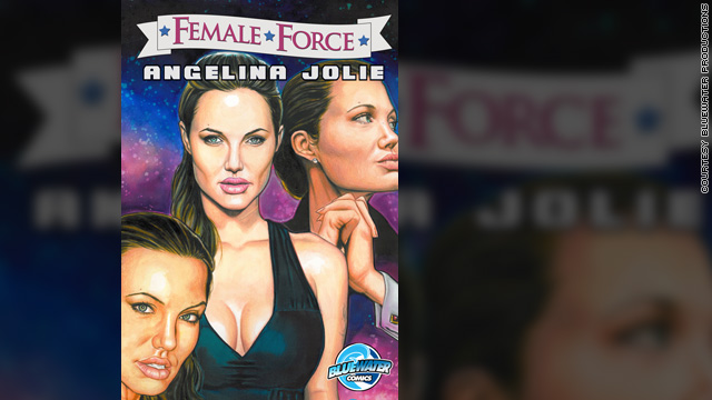 Angelina Jolie subject of new comic book