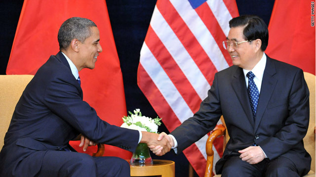 Obama and Hu to confer over Korean crisis