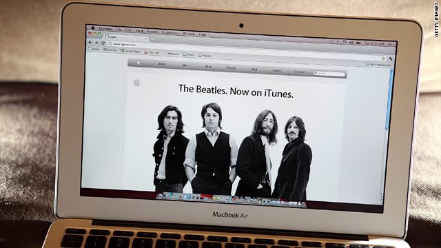 The Beatles are a hit in first week on iTunes