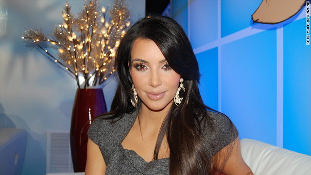 Kim K. talks Turkey Day, live from the Charmin Restrooms
