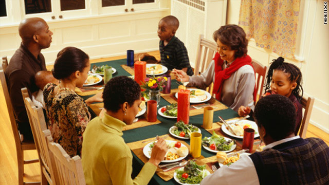 Surgeon general adds to call for health talk on turkey day