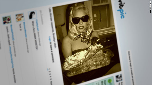 Celebs give thanks (and show off food) via Twitter