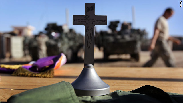 Army begins training chaplains on new 'don't ask' policy