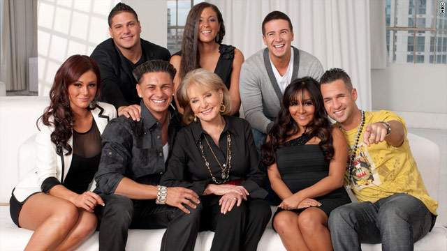 'Jersey Shore' among Barbara Walters' 'Most Fascinating'