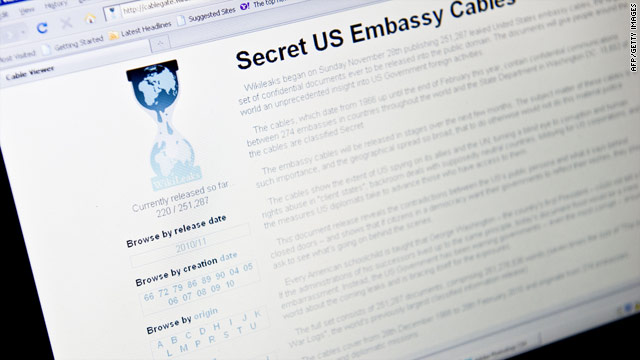 Latest updates: WikiLeaks' diplomatic cables release