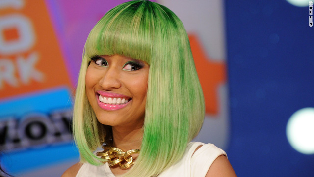 Nicki Minaj reacts to Regis Philbin getting grabby