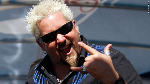 Today's non-shocker: Guy Fieri loves being a game show host