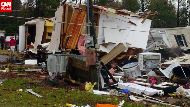 Severe weather puts 6 in hospital in Mississippi