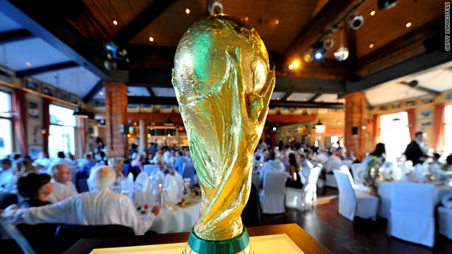 World Cup hosts announced: Russia in 2018, Qatar in 2022