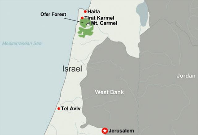 Police suspect arson in deadly Israeli wildfire CNNcom