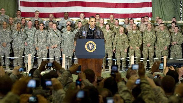 Obama makes unannounced visit to Afghanistan