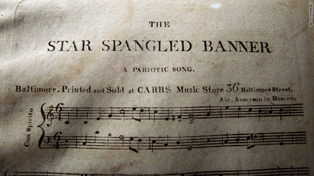Auction of first edition of 'Star Spangled Banner' tops $500,000
