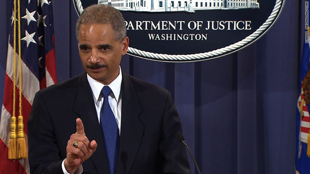 Holder: 'Significant' actions taken in WikiLeaks investigation