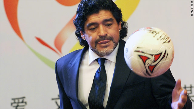 Report: Argentina soccer legend Diego Maradona may coach for Iran