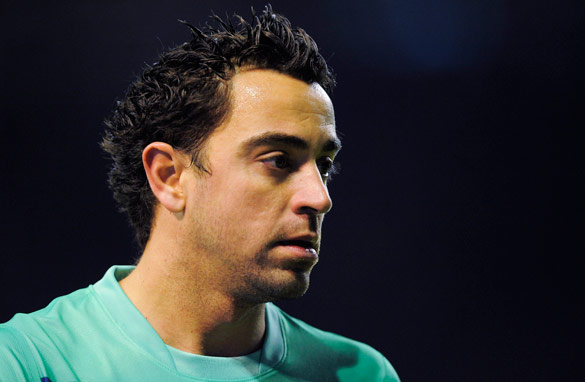 Xavi has been a fixture in the Barcelona midfield for the last decade.