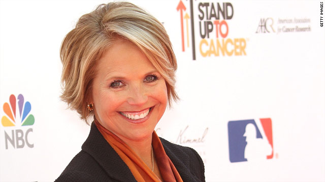 Katie Couric is a Gleek