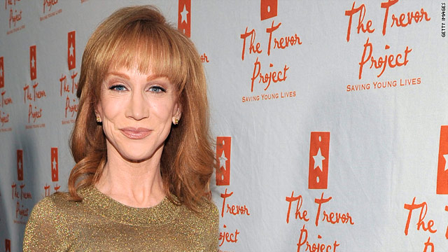 Kathy Griffin booed for Bristol Palin joke