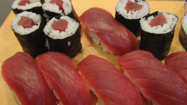 The mercury is rising for tuna