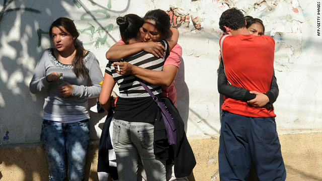 Prison fire kills 83 in Chile