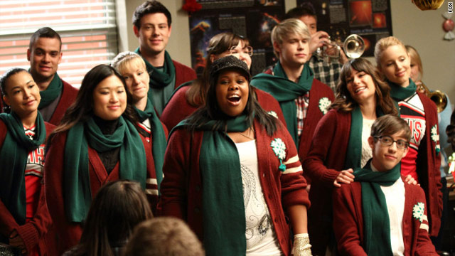 Here&#039;s to a &#039;Glee&#039;-ful holiday season