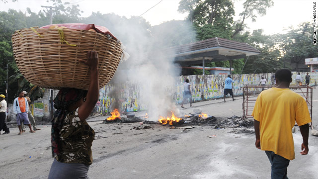 Preval calls for calm amid post-election protests