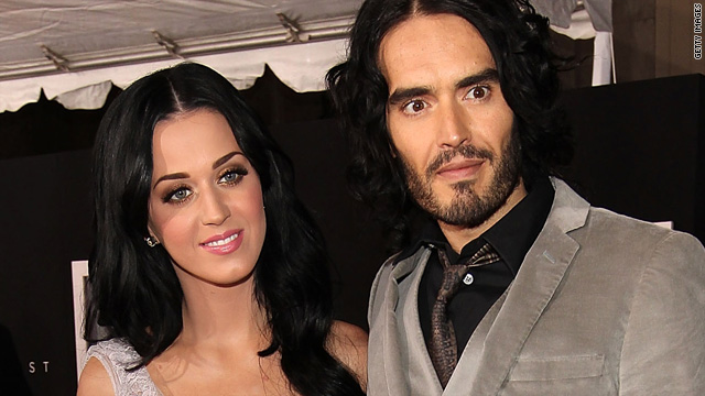 Katy Perry's taking Russell Brand's name