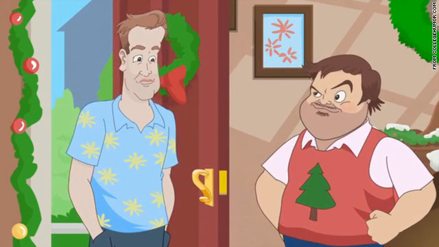 Jack Black, Jason Segel get animated for holidays