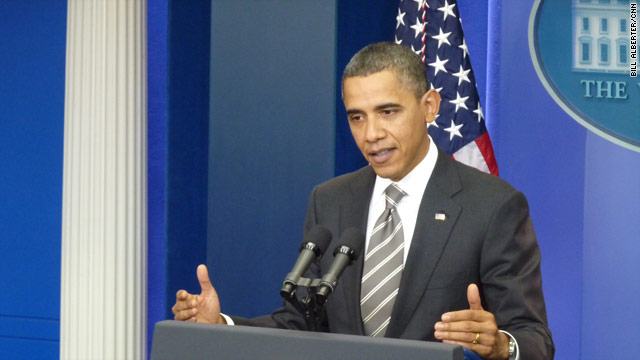 Liberal group uses Obama's words against him
