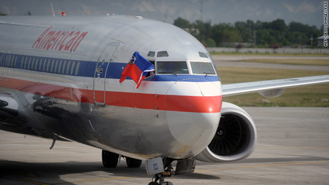American Airlines cancels service to and from Haiti during protests