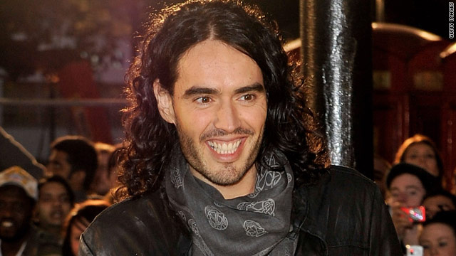 Russell Brand planning to get ghoulish