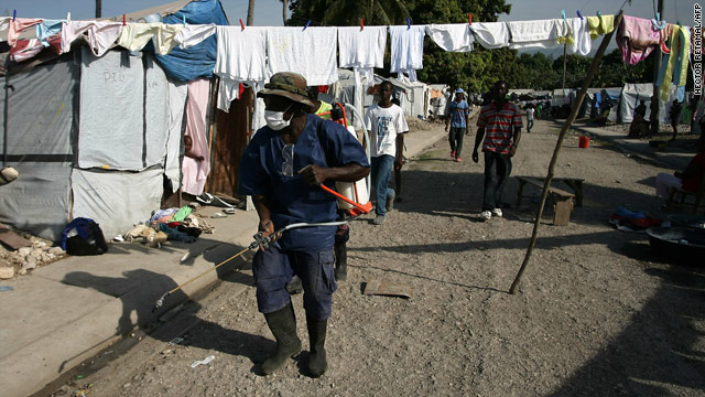 Study: Origin of cholera epidemic in Haiti is in humans, not nature