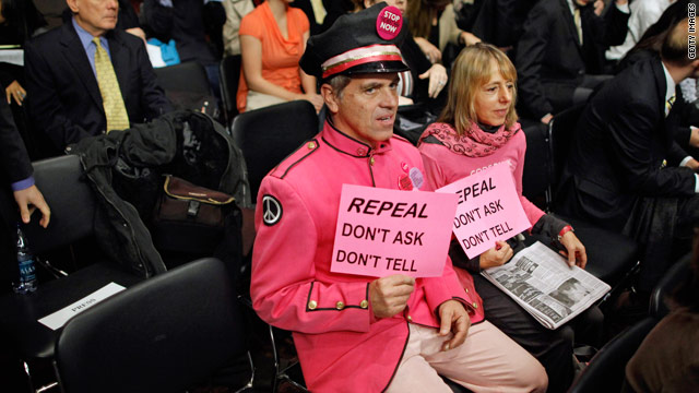 Poll: Two out of three say repeal don't ask, don't tell