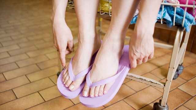 What the Yuck: Do flip-flops really protect me in the gym shower? ww