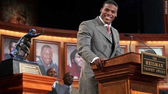 Auburn's Newton wins Heisman Trophy