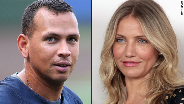 A-Rod, Cameron Diaz spotted at weekend wedding
