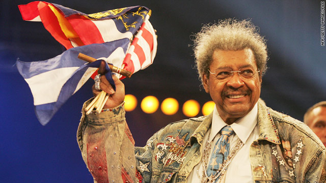 Airport security finds ammunition in Don King's luggage