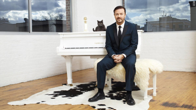 All bets are off for Gervais' second Golden Globes