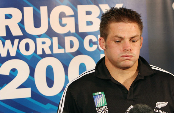 New Zealand captain Richie McCaw will seek to make up for his 2007 World Cup disappointment. (AFP/Getty Images)