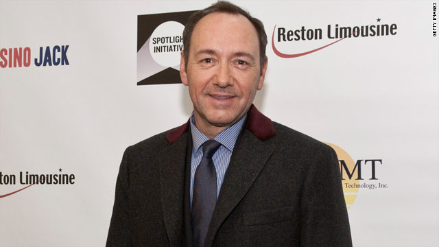 Kevin Spacey wishes 'Casino Jack' director could enjoy Globes nod